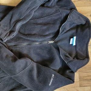 Fleece zip up jacket